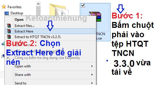 cách cài đặt phần mềm qttncn 3.3.0