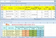 các bút toán kết chuyển cuối kỳ trên excel kế toán