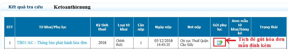 nộp thông báo phát hành hóa đơn online