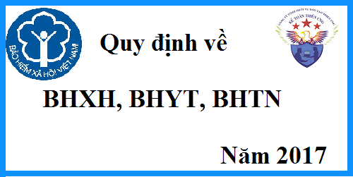 quy dinh ve bhxh nam 2017