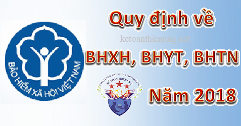 quy dinh ve bhxh nam 2018