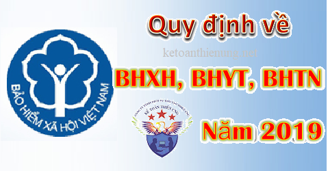 quy dinh ve bhxh nam 2019
