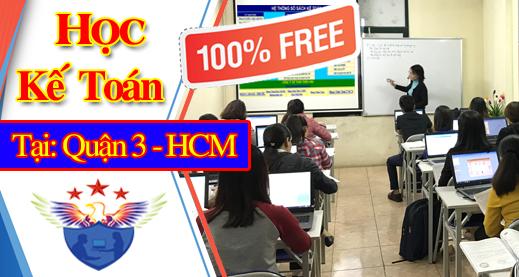 Lớp học kế toán miễn phí tại TP Hồ Chí Minh