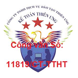 Công văn 11819/CT-TTHT chi phí được trừ khi tính thuế TNDN