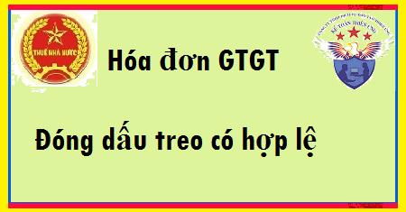 Hóa đơn GTGT đóng dấu treo có hợp lệ không