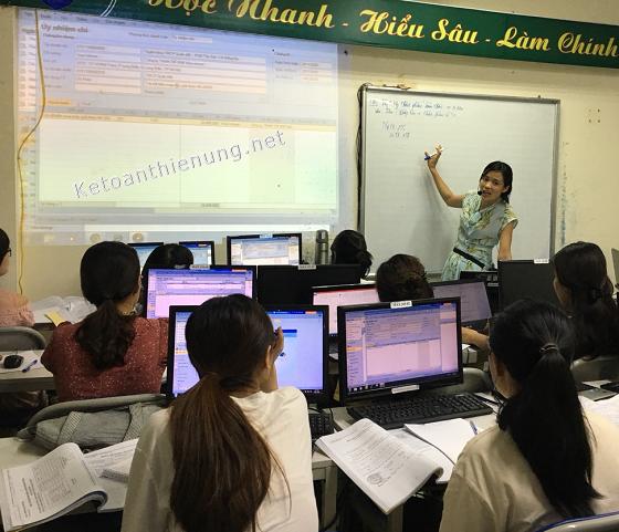 Lớp học phần mềm kế toán MISA (Học lập BCTC trên Misa)
