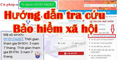 Cách tra cứu thông tin đóng BHXH qua mạng, tin nhắn SMS