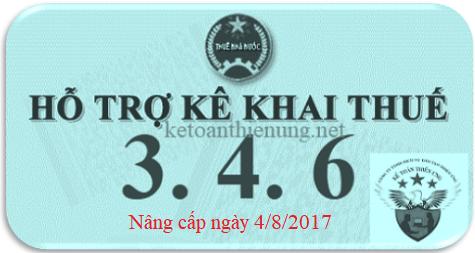Phần mềm HTKK 3.4.6 mới nhất 2017