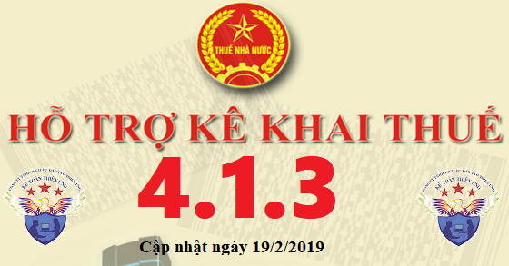 Phần mềm hỗ trợ kê khai thuế HTKK 4.1.3 mới nhất 2019