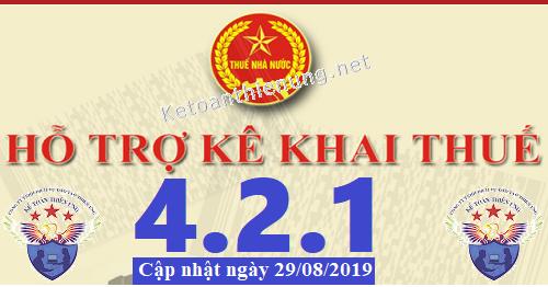 Phần mềm hỗ trợ kê khai thuế HTKK 4.2.1 mới nhất 2019