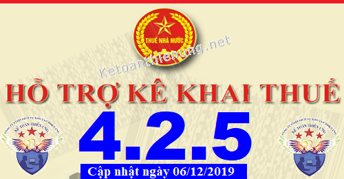 Phần mềm hỗ trợ kê khai thuế HTKK 4.2.5 mới nhất 2019