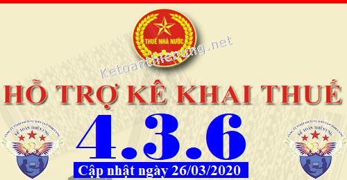 Phần mềm hỗ trợ kê khai thuế HTKK 4.3.6 mới nhất 2020