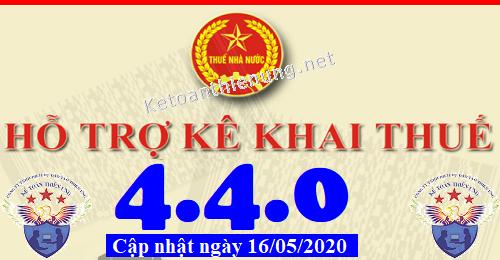 Phần mềm hỗ trợ kê khai thuế HTKK 4.4.0 mới nhất 2020