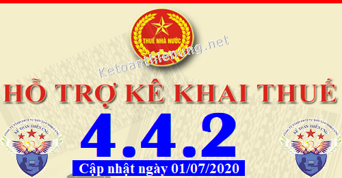 Phần mềm hỗ trợ kê khai thuế HTKK 4.4.2 mới nhất 2020