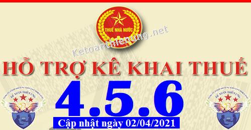 Phần mềm hỗ trợ kê khai thuế HTKK 4.5.6 mới nhất 2021