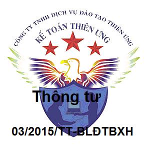 Thông tư 03/2015/TT-BLĐTBXH điều chỉnh tiền lương đã đóng BHXH