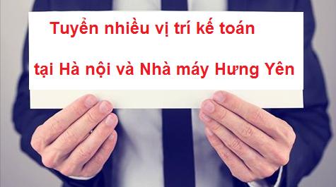Công ty Thương mại Việt Hồng tuyển nhiều vị trí kế toán